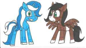 Blue Berry and Oliver Oreo by cmara