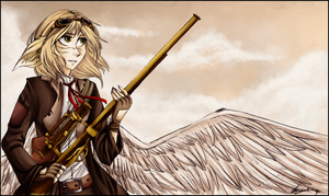 [RU] I'm an angel with a shotgun! [WC#8] by AriannLee