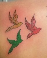 Three Little Birds..marley by xNowhereKidx