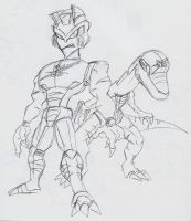 TFA Dinobot by BlueIke