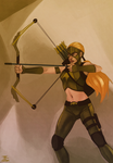 Artemis by duskflare