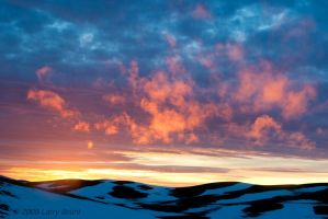 Sunset on the Palouse by inessentialstuff