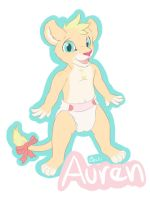 Baby badge by Lincub