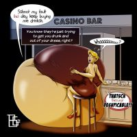 Barfly commission 1 by DonElliottoCorleone
