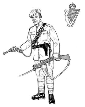 Auxiliary Constable, R.I.C. by linseed