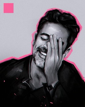Jeffrey Dean Morgan Sketch by FallonBeaumont