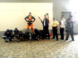 Otakon 2011 - Left 4 Dead 01 by mugiwaraJM