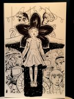 Stranger Things Cover 2 Unscanned by KR-Whalen
