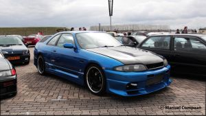 Nissan Skyline R33 GTS-T by compaan-art