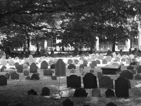 Granary Cemetery by Blissiee