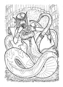 Lamia by Youngdemon