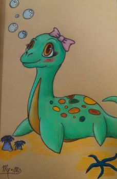 Baby Nessie by Mr-And-Ms-Bubbles