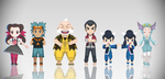 [MMD Download] Chibi Gym Leaders by Supurreme