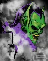 Green Goblin by KileyBeecher