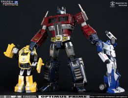 Optimus Prime MP-10 Repaint - Megs Must be Stopped by xeltecon