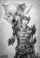 Dragon Age 2, Fenris by Agregor