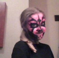 What Darth Maul looks like on me :) by JediSkygirl