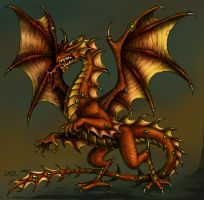 Dragon by Candra