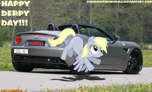 Happy Derpy Day!!! by PoniesWithCarsRule