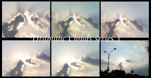 Dramatic Clouds collection 1 by Hermit-stock