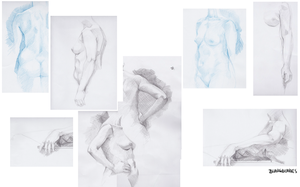 Life Drawing by blargberries
