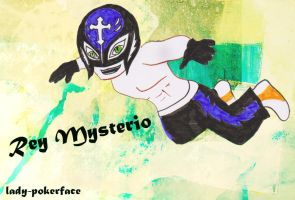 Rey mysterio by lady-pokerface