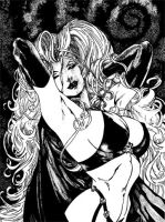 Lady Death 2 by ariess