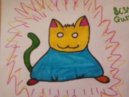 Trippin fat Cat by MangaLobster