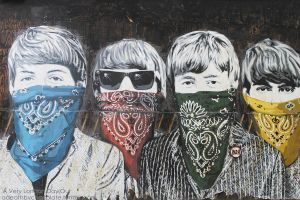 ' The Bad@ss Beatles ' by adeathbychocolate
