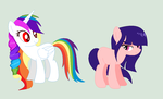 mlp sisters by CloudyPonyArtists