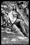 black n white yina by djwarchild76