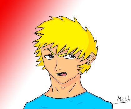 Anime Dude #1 by GelatinousScribbles
