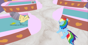 Applestack in Canterlot - day 01d by K4nK4n