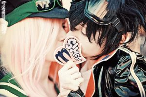 Air Gear: Simca and Ikki by MisaKaterina