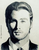 Chris Hemsworth Sketch by Feyjane