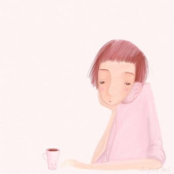coffee in pink by ligreego