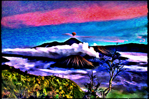 Digital Painting: Paisley Islands Explored by UkuleleMoon
