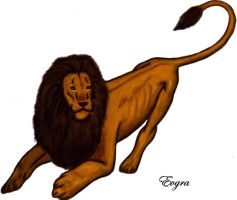 Lion by Evgra