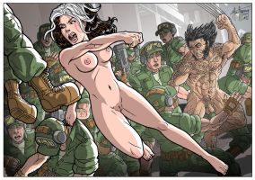 Naked Mutants by Muenchgesang