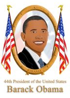 Paper Obama by FauxHead