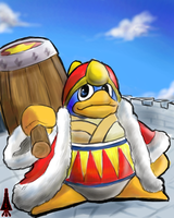King Dedede by HakuryuVision