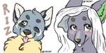Headshot Tags by fledglings