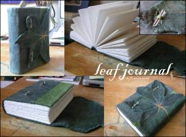 Leaf Journal by myceliae