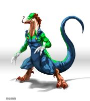 Dragon Luigi by Namh