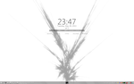 Minimal Rainmeter Desktop by xR4nD0mx3m0x
