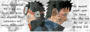Uchiha Obito of the Leaf by blackbommer22