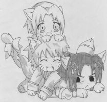 Naruto Cats by FightingDreamer-06