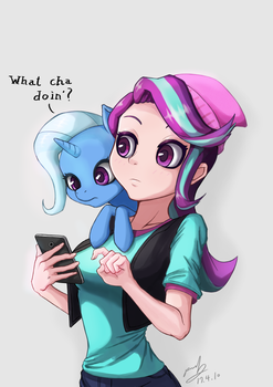What cha doin'? by The-Park