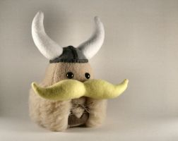 Sven the Viking Plushie by Saint-Angel