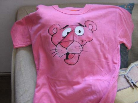 Pink Panther T-shirt gift by MatiasSoto